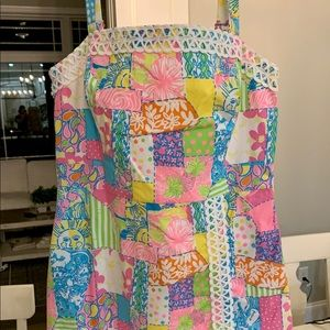 Lilly Pulitzer RARE Pineapple patch dress 6